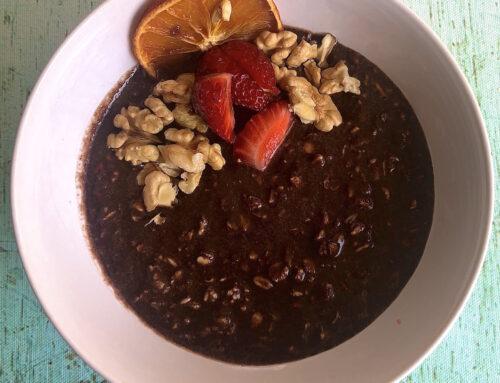 Yulaflı Çikolatalı Rafine Şekersiz Sütlacımsı