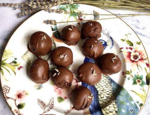 Çikolatalı Lavantalı Truffles